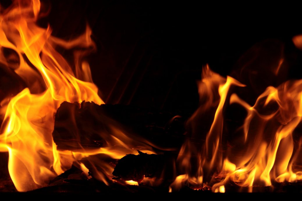 The fire of Godly Passion