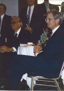 Billy Graham and John Beckett, 1994