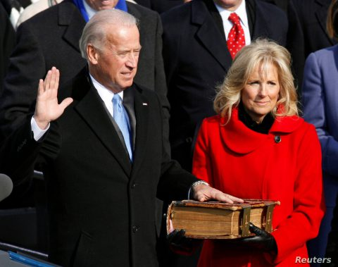 Biden's Inauguration: </br>Totally Trumped by a Greater One!