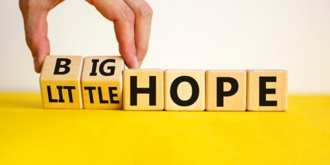 How BIG Is Your HOPE? As Big as Jesus Ruling on His Throne?